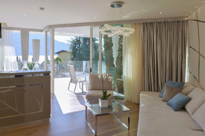 Park hotel Imperial - camere e suites- deluxe suite con vista sul Lago di Garda | Centro Tao