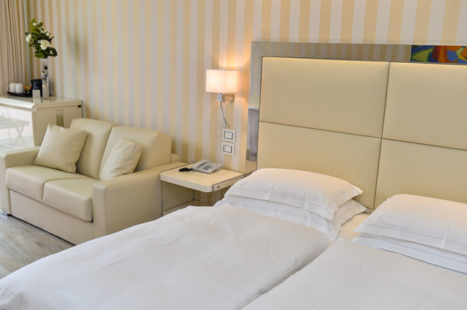 Centro Tao Natural Medical Spa - Junior Suite - accoglienza 5 stelle | camere e suites | Park Hotel Imperial