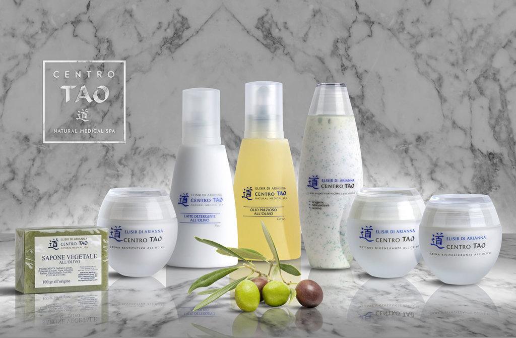 Elisir d'Arianna - line fitocosmetica naturale all'olio d'oliva - Centro Tao- rivitalizza la pelle