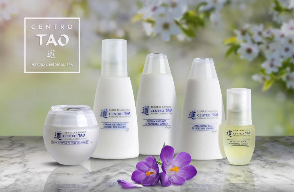 """Elisir d'Arianna - line fitocosmetica naturale Fiori del Garda """"Antiaging - Centro Tao- rivitalizza la pelle"""