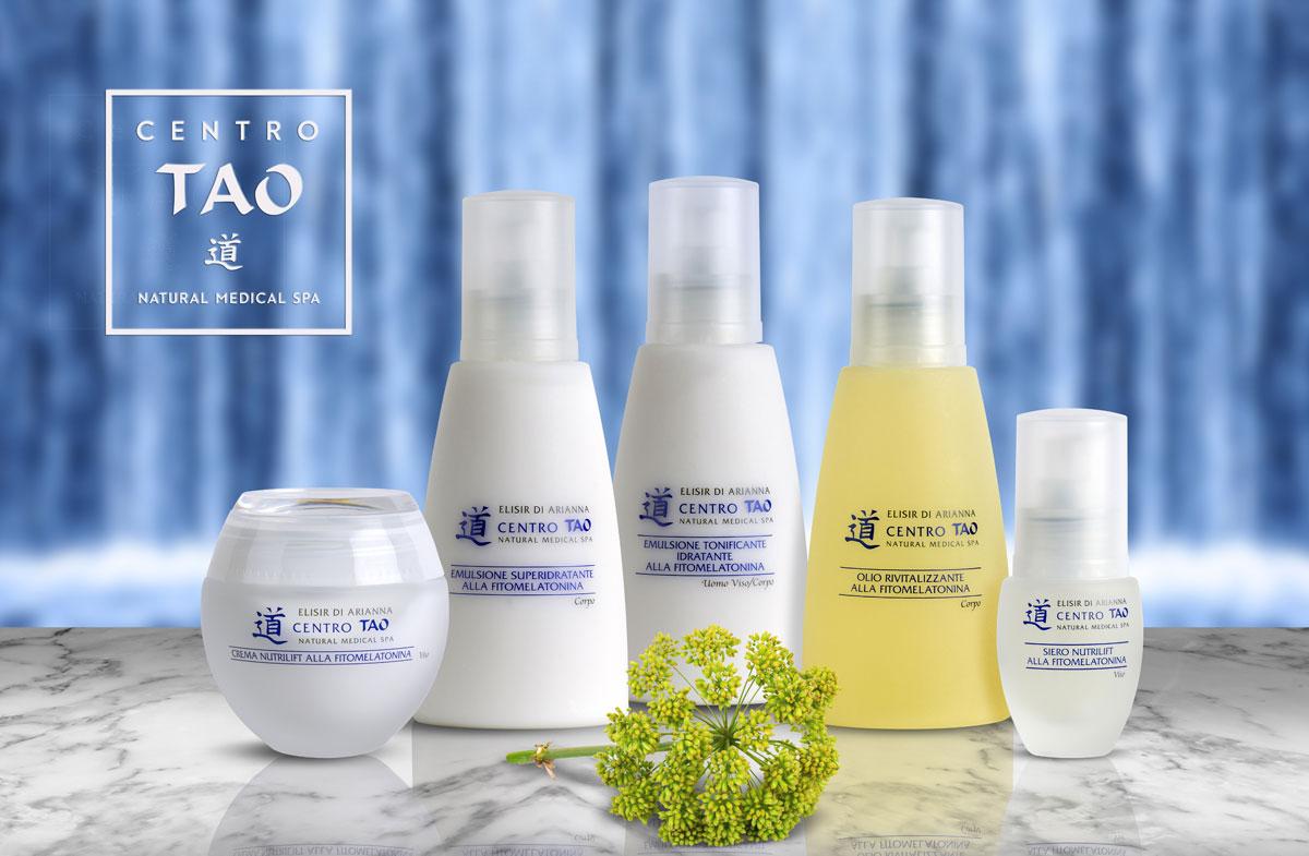 Elisir d'Arianna - line fitocosmetica naturale fitomelatonina - Centro Tao- rivitalizza la pelle