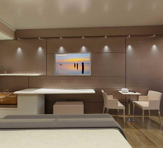 Camera prestige, raffinata e moderna Park hotel Imperial - interni spaziosi 24 mq